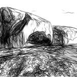"""Remarkable Rocks, Flinders Chase National Park, Ka"" by canvass22"