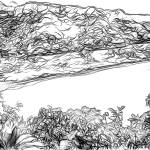 """Road to Hana, Turquoise Lagoon, Maui, Hawaii"" by canvass22"