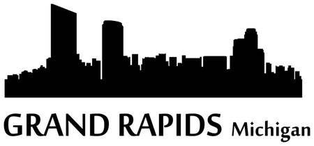 Grand Rapids Cityscape Skyline