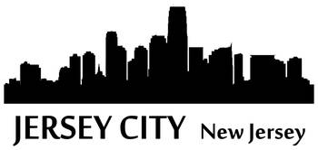 Jersey City Cityscape Skyline