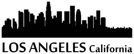 Los Angeles Cityscape Skyline