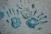 Painted Hand Prints