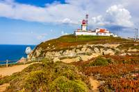 Light house at Cape Roca, Sintra, Portugal