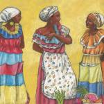 """Colombian Fruit Vendors - Tak Story"" by LynnArmedeDeBeal"