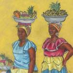 """""""Colombian Vendors - Showing Off"""" by LynnArmedeDeBeal"""