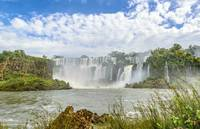 Waterfalls Landscape at Iguazu Park