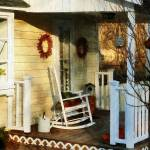"""Rocking Chair on Side Porch"" by susansartgallery"