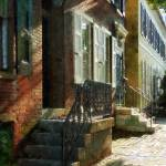 """New Castle Delaware Street"" by susansartgallery"