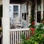 """""""Roses and Rocking Chairs"""" by susansartgallery"""
