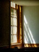 Sunshine Streaming Through Window