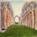"""Fountains abbey"" by Dennisartist"