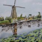 """kinderdijk, holland"" by Dennisartist"