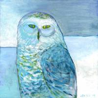 Winter Blues Art Prints & Posters by Jennifer Lommers