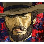 """The Coolness of Mr. Eastwood by Todd Bane"" by tBaneArt"