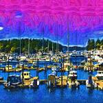 """""""Roche Harbor"""" by Kirtdtisdale"""