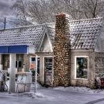 """""""Closed Service Station"""" by johndecember"""