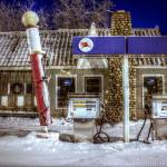 """""""Old Service Station - Closed"""" by johndecember"""
