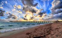 Juno Beach Pier Florida Sunrise Seascape D7