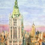 """Woolworth Building"" by ShaSha"
