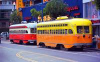 San Francisco Trolley Cars 2007