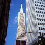 """San Francisco - Transamerica Pyramid Building"" by Ffooter"