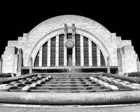 Cincinnati's Union Terminal Black & White