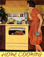 Home Cooking Vintage Kitchen