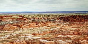 Light On The Painted Desert