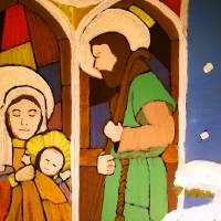 Holy Family by George Wood Art Prints & Posters by Karen Adams