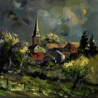 ardenne village 7751 Art Prints & Posters by pol ledent