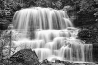 DeCew Falls In Black & White