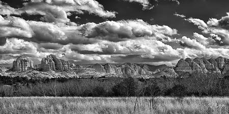 Sedona Ansel Adams Inspired