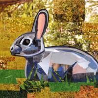 Bunny the Explorer Art Prints & Posters by Megan Coyle