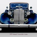 """1935 Packard Convertible Sedan"" by FatKatPhotography"