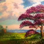 """Jacaranda Tree Colors"" by mazz"