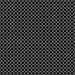 """White Quatrefoil Pattern"" by ValeriesGallery"
