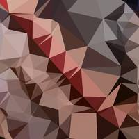 Bulgarian Rose Brown Abstract Low Polygon Backgrou