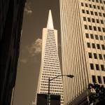 """San Francisco - Transamerica Pyramid Building"" by Ffooter"