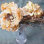"""Peonies in Vase"" by anniepics"