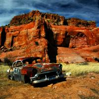 Lupton Rust Art Prints & Posters by Jeannette Wood