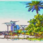 """""""San Diego Bay Front"""" by winrow"""