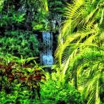 """Bahamas - Tropical Waterfall"" by susansartgallery"
