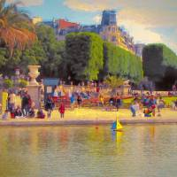 Sailing Boats Art Prints & Posters by John Rivera