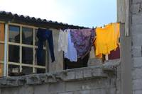 Laundry on a Line