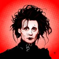 Edward Scissorhands - Pop Art