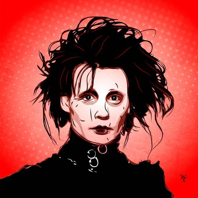 Pop Art Edward Scissorhands Artwork For Sale On Fine Art Prints
