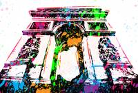 Arc de Triomphe - Paris - Pop Art