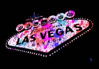 Las Vegas Sign - Pop Art