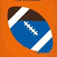 No580 My The Waterboy minimal movie poster Art Prints & Posters by Chungkong Art