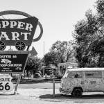 """Route 66 VW Micro Bus"" by photocatphoto"
